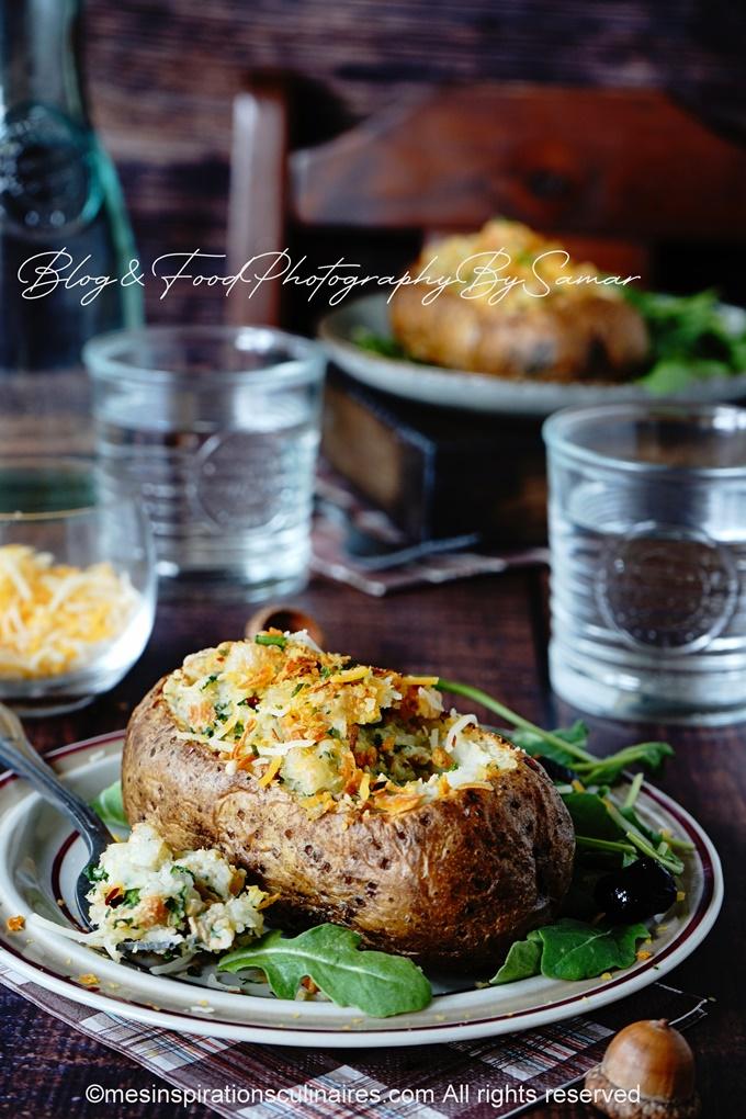 comment faire des pommes de terre au fromage et beurre
