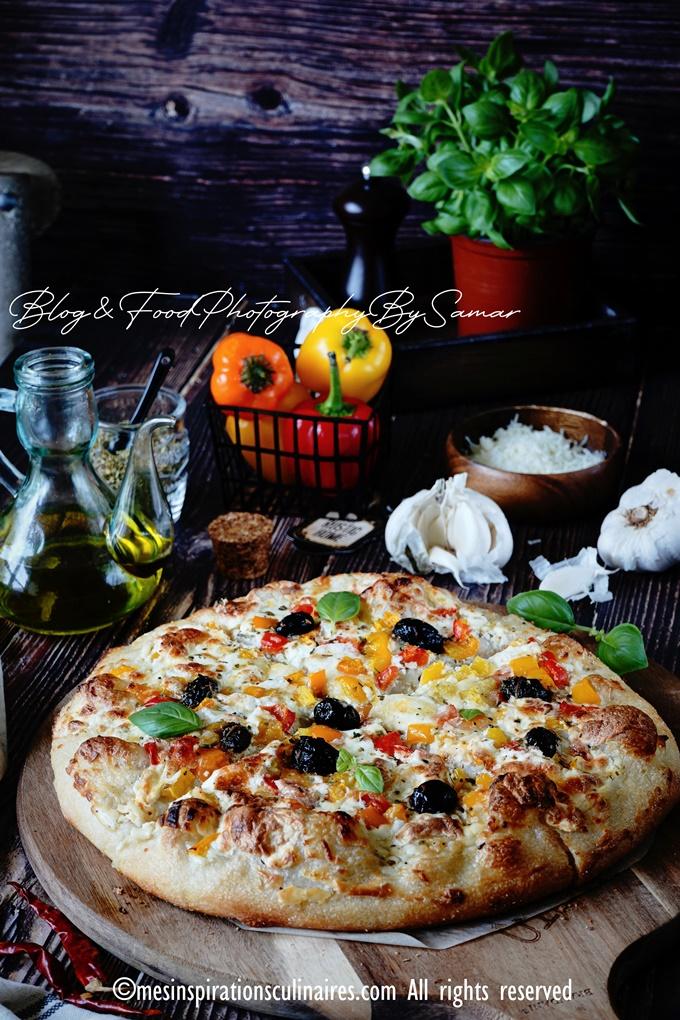 Pate a pizza epaisse