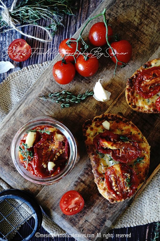 tomates sechees ou confites maison
