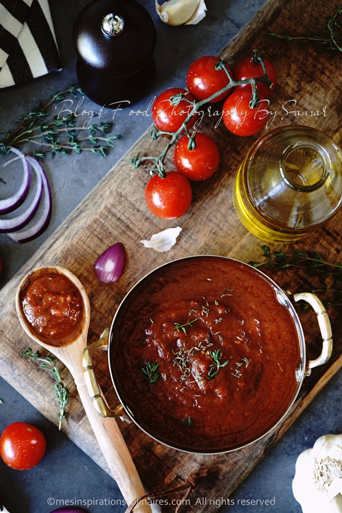 Sauce tomate : recette maison