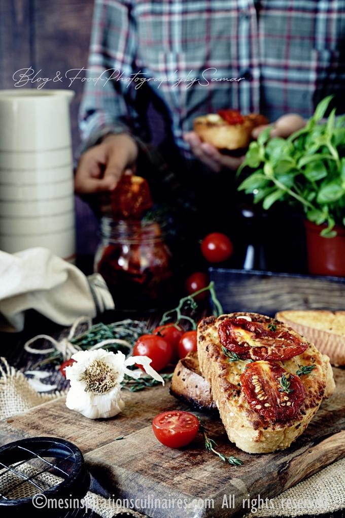 comment faire des tomates séchées confites au four
