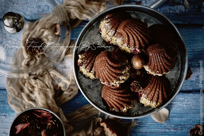 recette de madeleines a la pate a tartiner Nutella