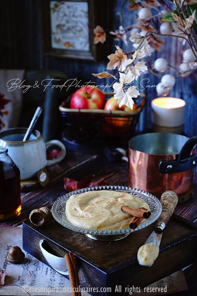 Beurre de pomme maison au sirop d'érable