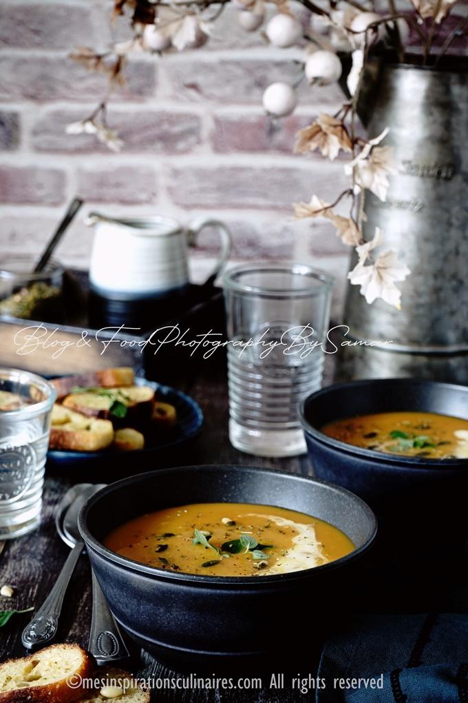 La soupe de carotte maison
