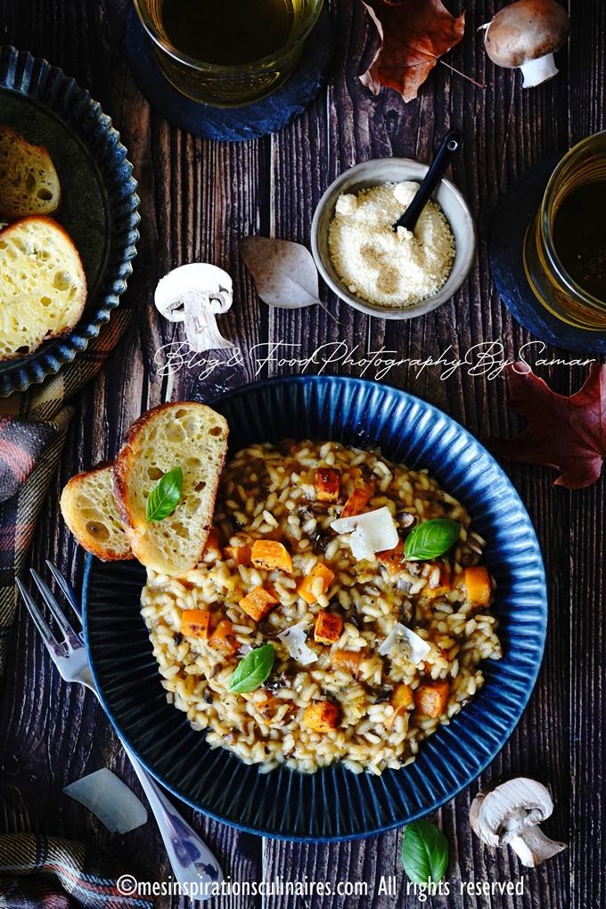 recette de risotto italien a la courge