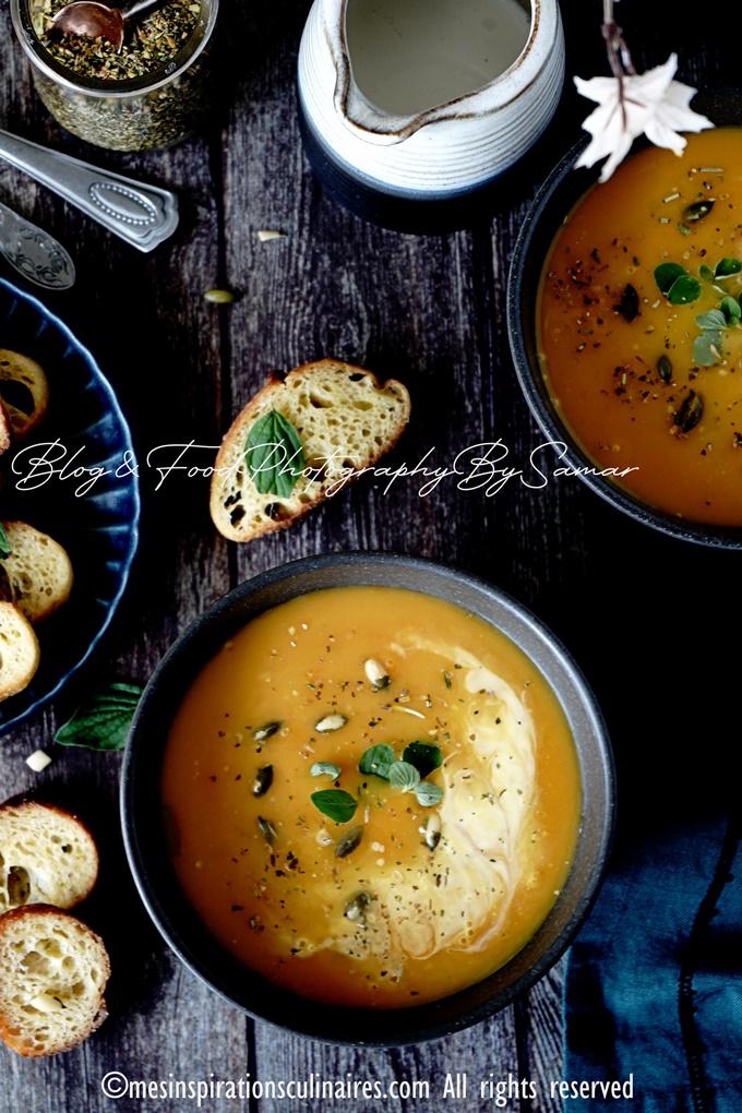 Recette de soupe de carottes maison