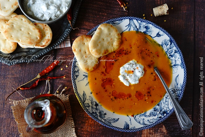 recette de la soupe au potiron carottes et lait de coco