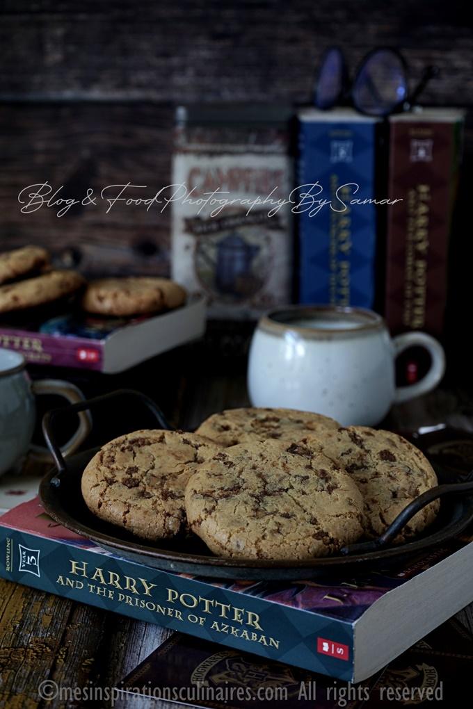 Cookies moelleux de Harry Potter