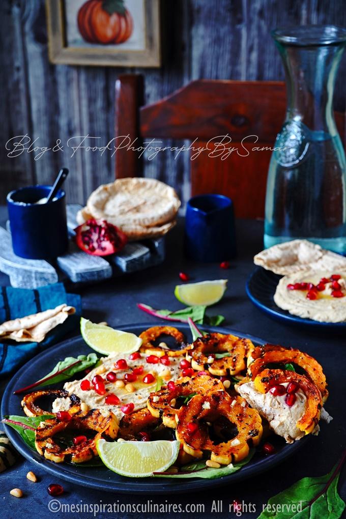 recette de courge delicata a l'ail