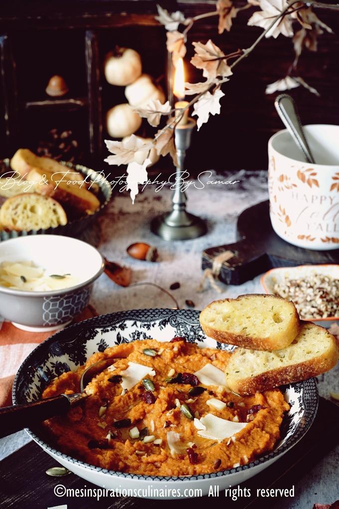 recette Purée de potiron et pomme de terre