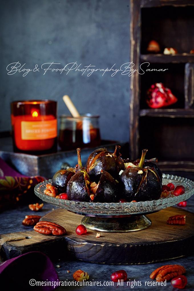 recette de figues au four au miel
