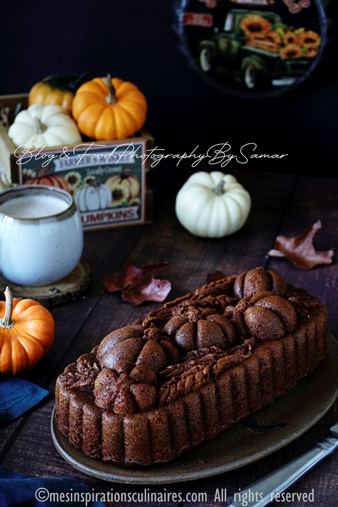 Cake potimarron moelleux - pumpkin bread