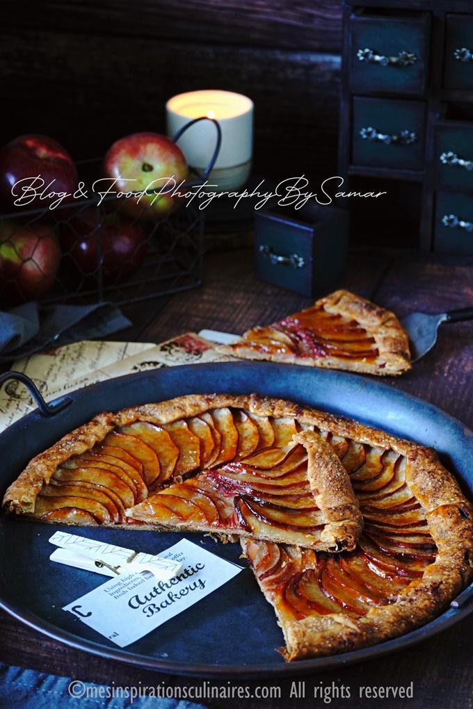 recette de tarte aux pommes façon rustique