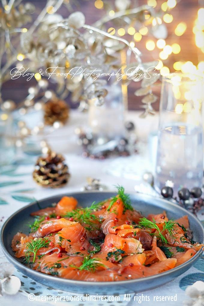 saumon mariné recette facile