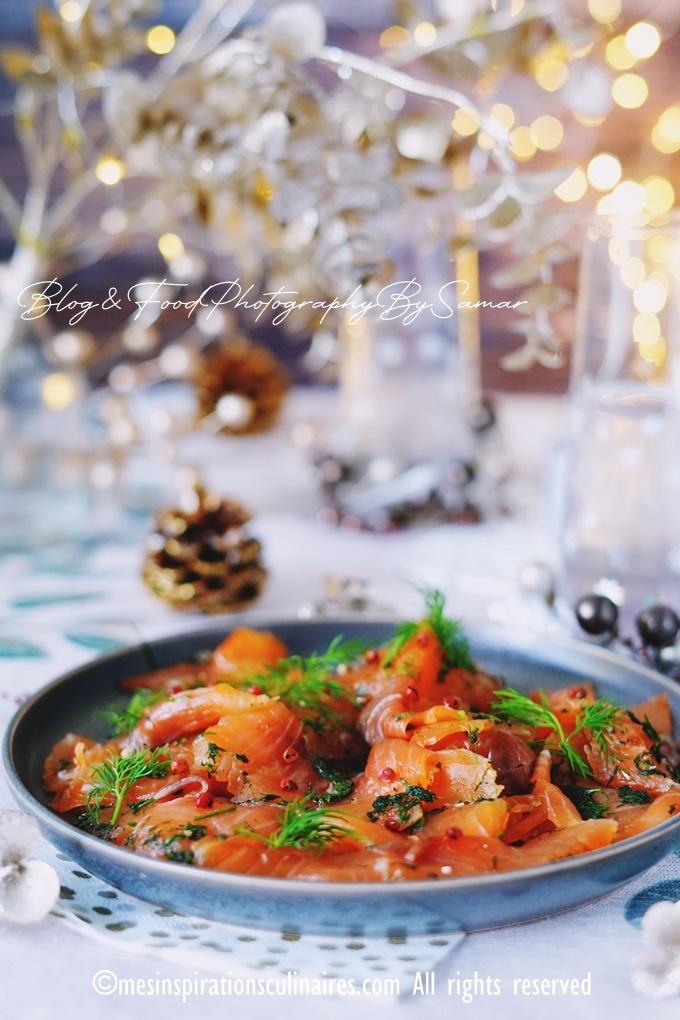 recette saumon de gravlax maison