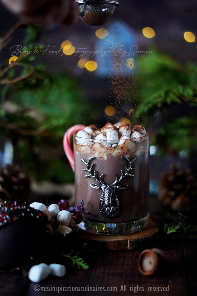 recette de chocolat chaud au chamallow