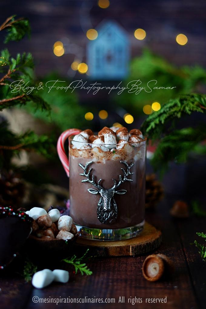 chocolat chaud chamallow