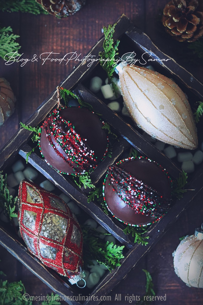 bombes de chocolat chaud