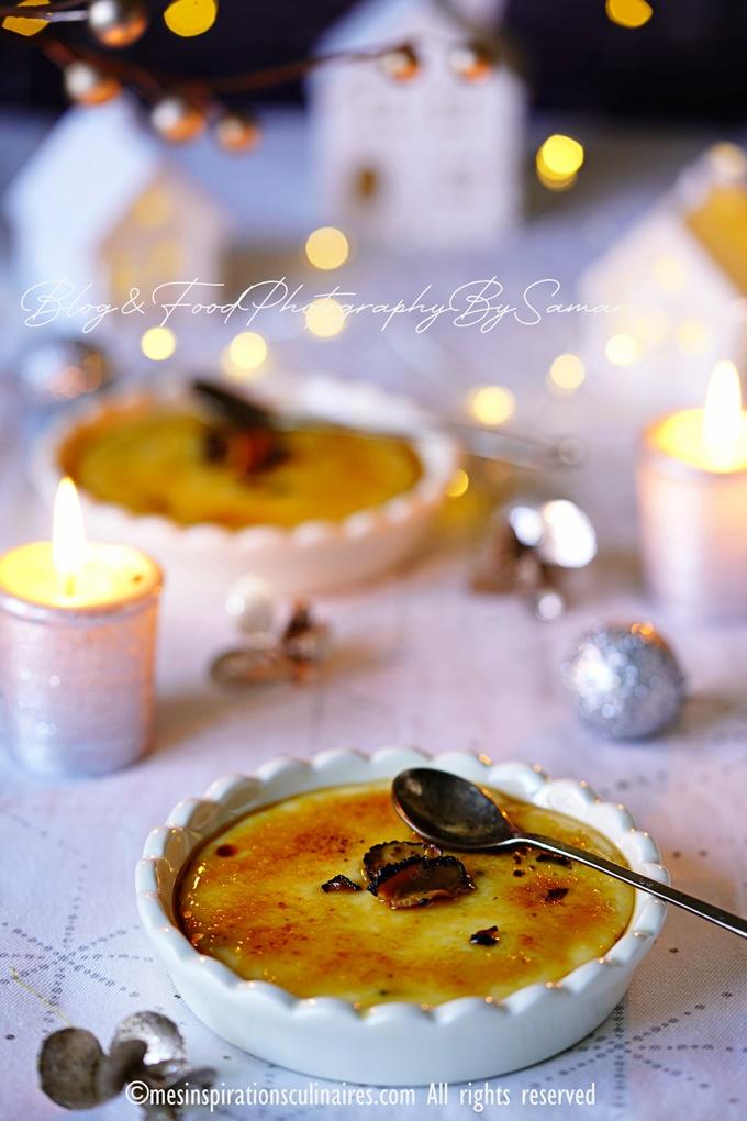 recette Crème brûlée au foie gras de canard