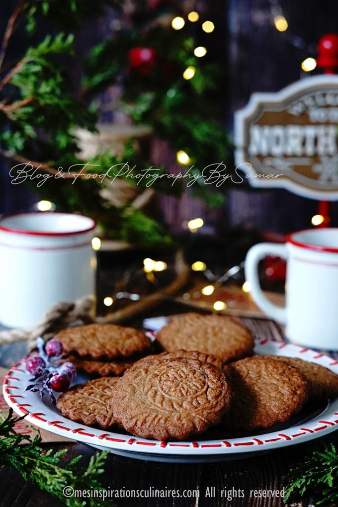 biscuit fait maison aux epices speculaas