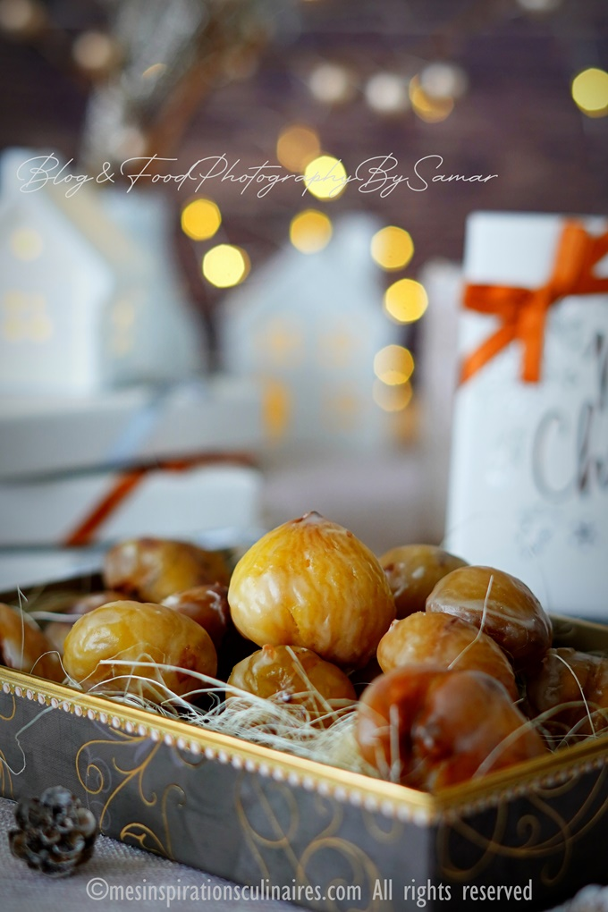 recette marrons glacés maison