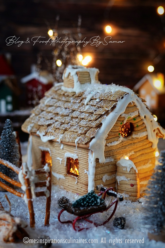 recette gingerbread house