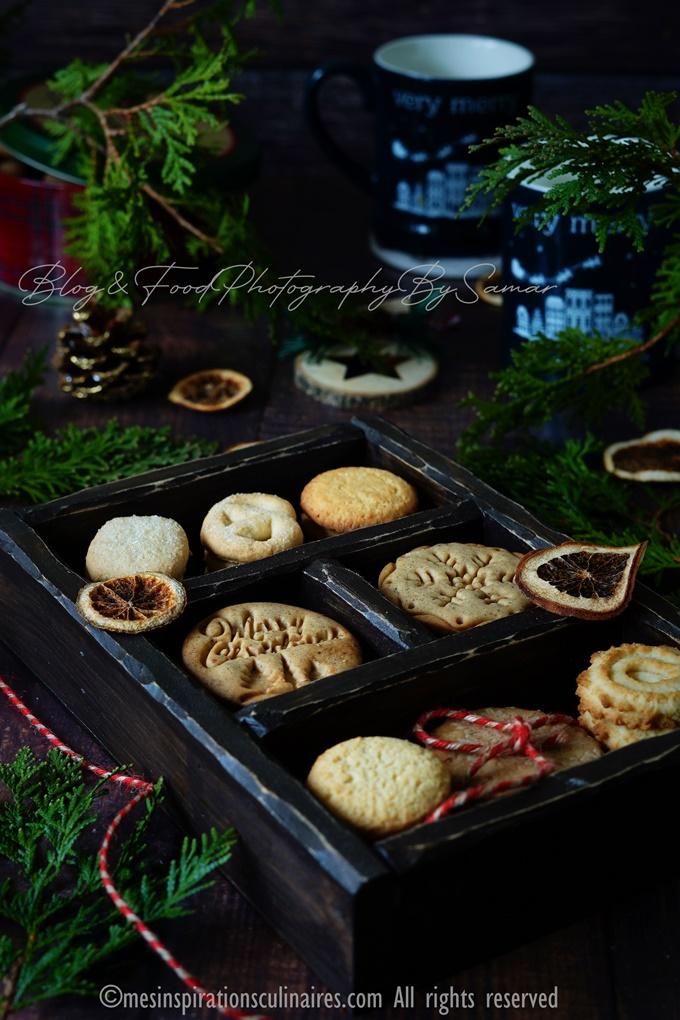 biscuits aux amandes : Schwowebredele