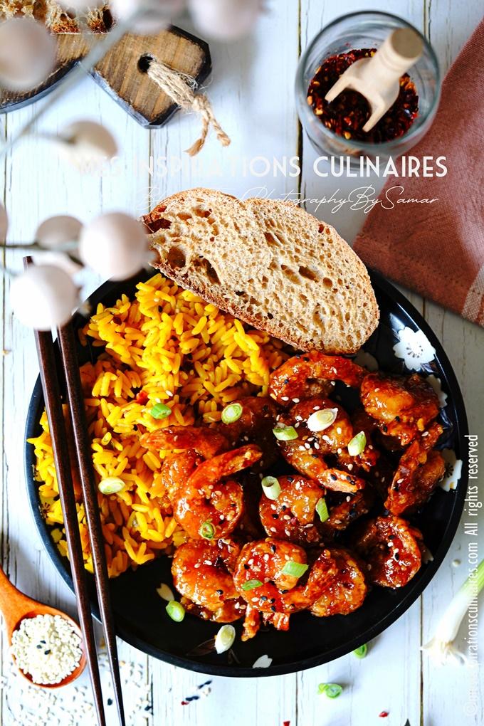 recette crevettes sauce piquante