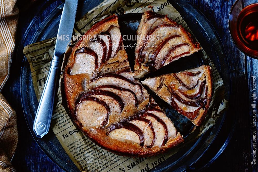 Gâteau aux poires moelleux
