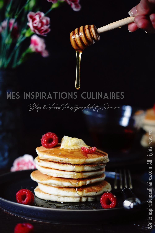 pancakes américains au Lben
