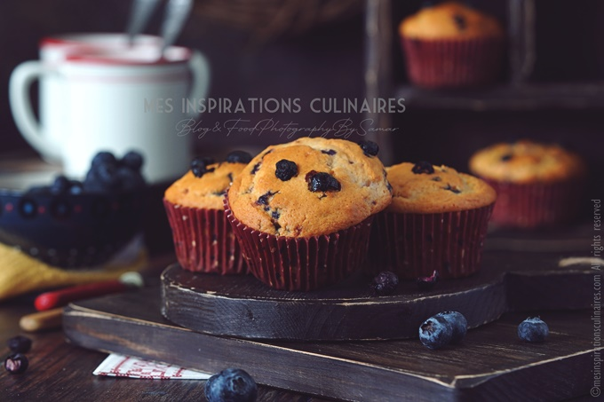 Muffins américains, recette Jordan Marsh