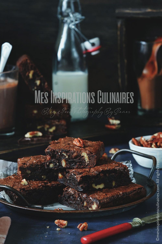 Recette de brownies au pecan
