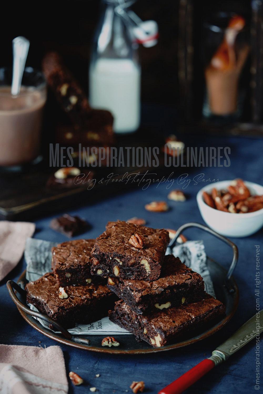 Les brownies américains aux noix