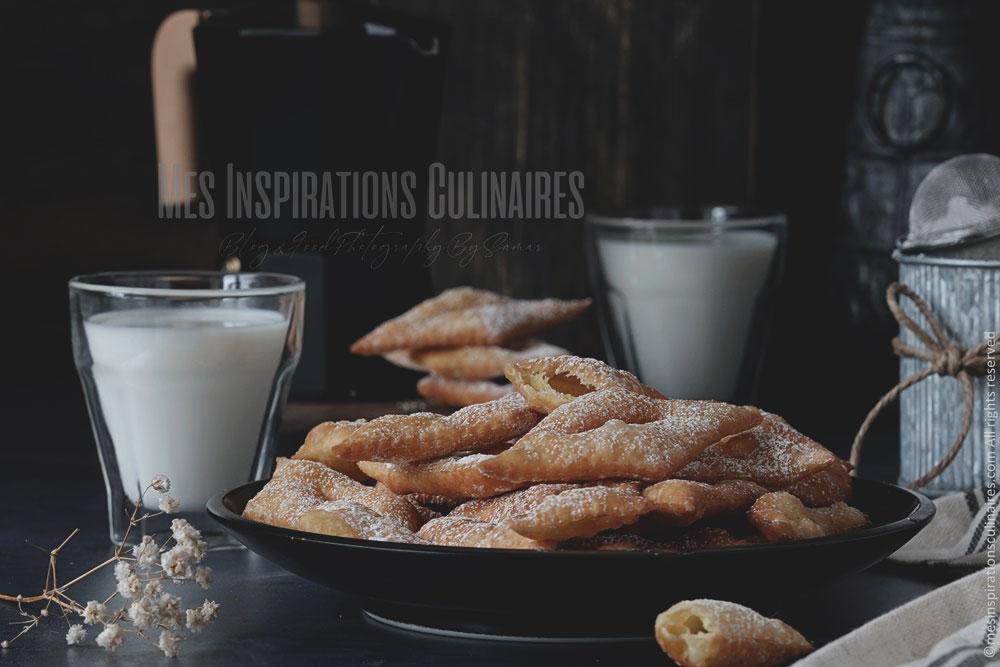 Bugnes croustillantes, recette facile et rapide