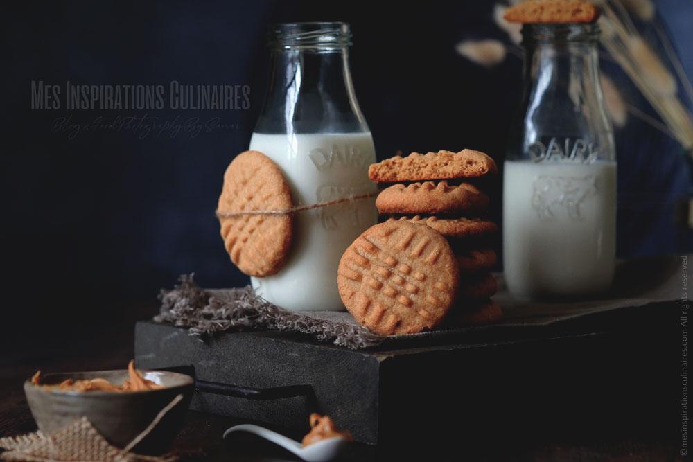 Peanut butter cookies, recette américaine