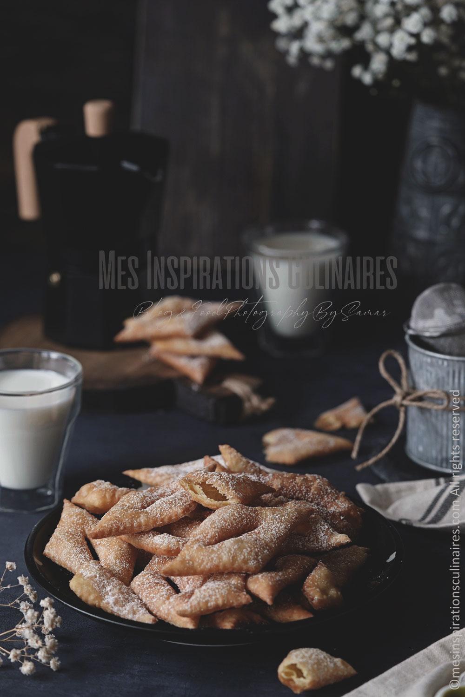 bugnes lyonnaises croustillantes recette facile