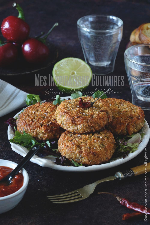 les Crab cakes, galettes de crabe recette américaine