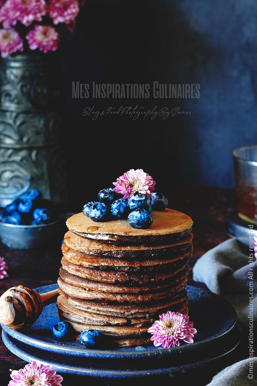 pancakes au cacao et babeurre