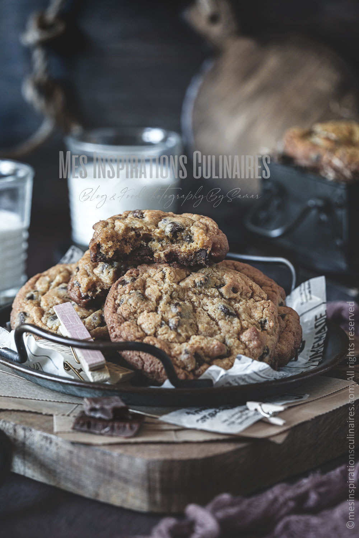 Recette cookies de Cyril Lignac
