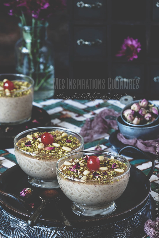 Crème dessert aux noisette, bouza tunisienne