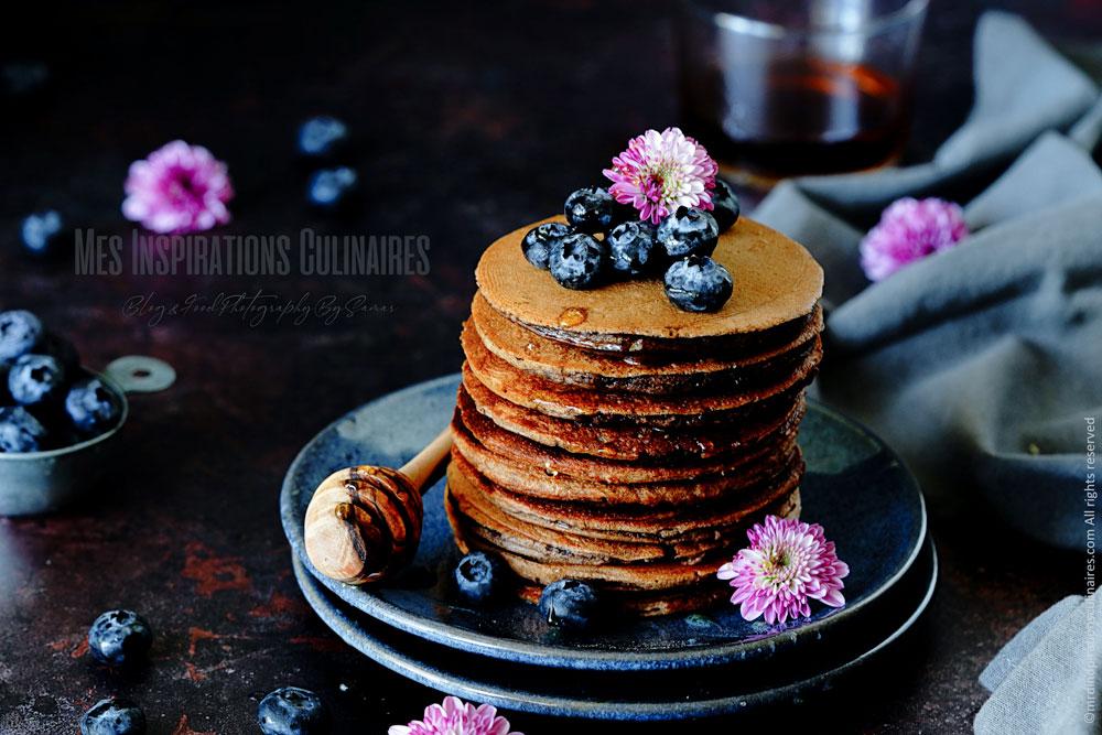 Recette pancakes chocolat