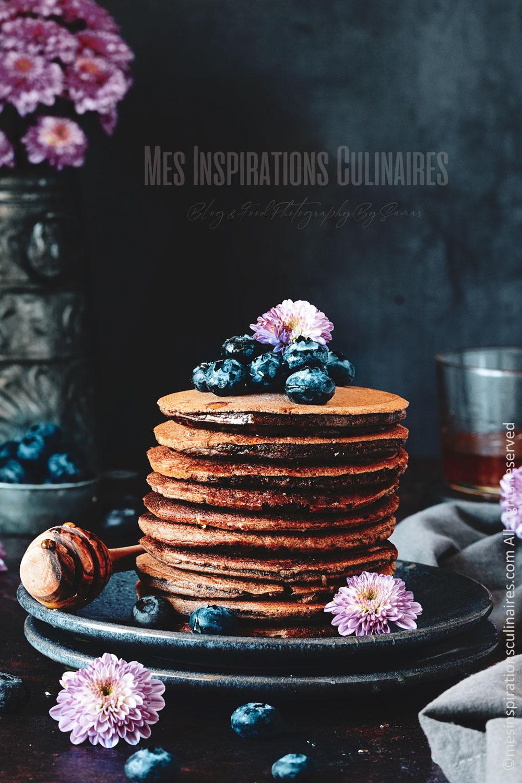 recette pancakes au cacao