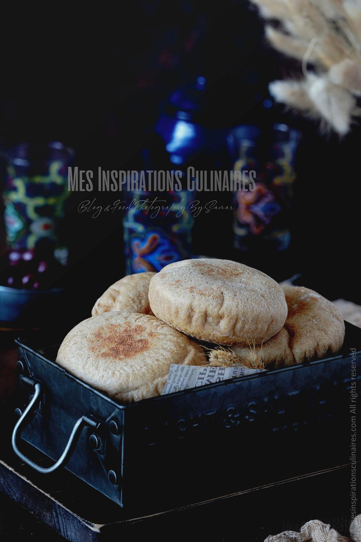 Recette de pain marocains batbout