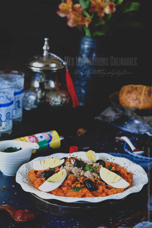 recette salade de carotte tunisienne