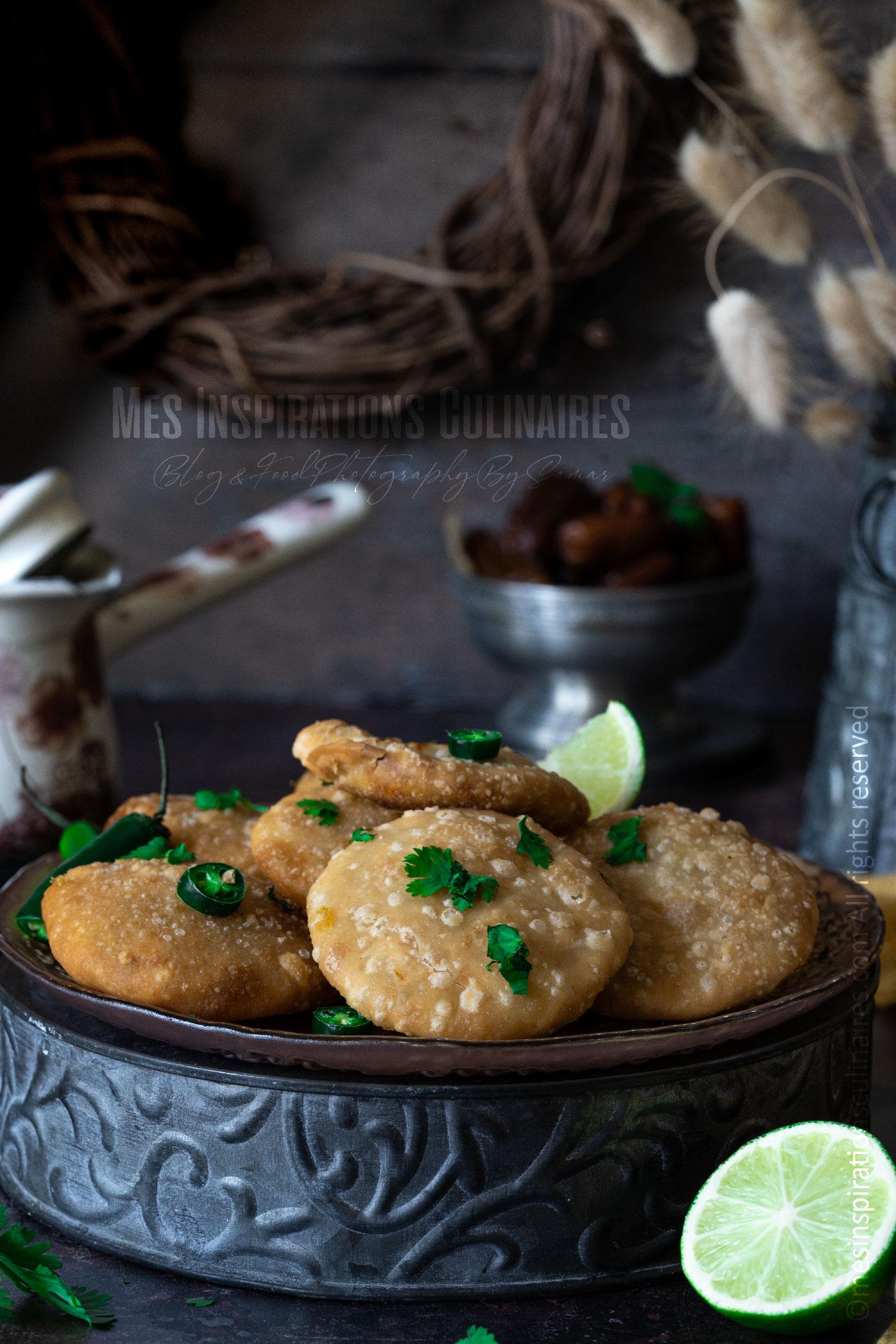 recette Aloo kachori aux pomme de terre