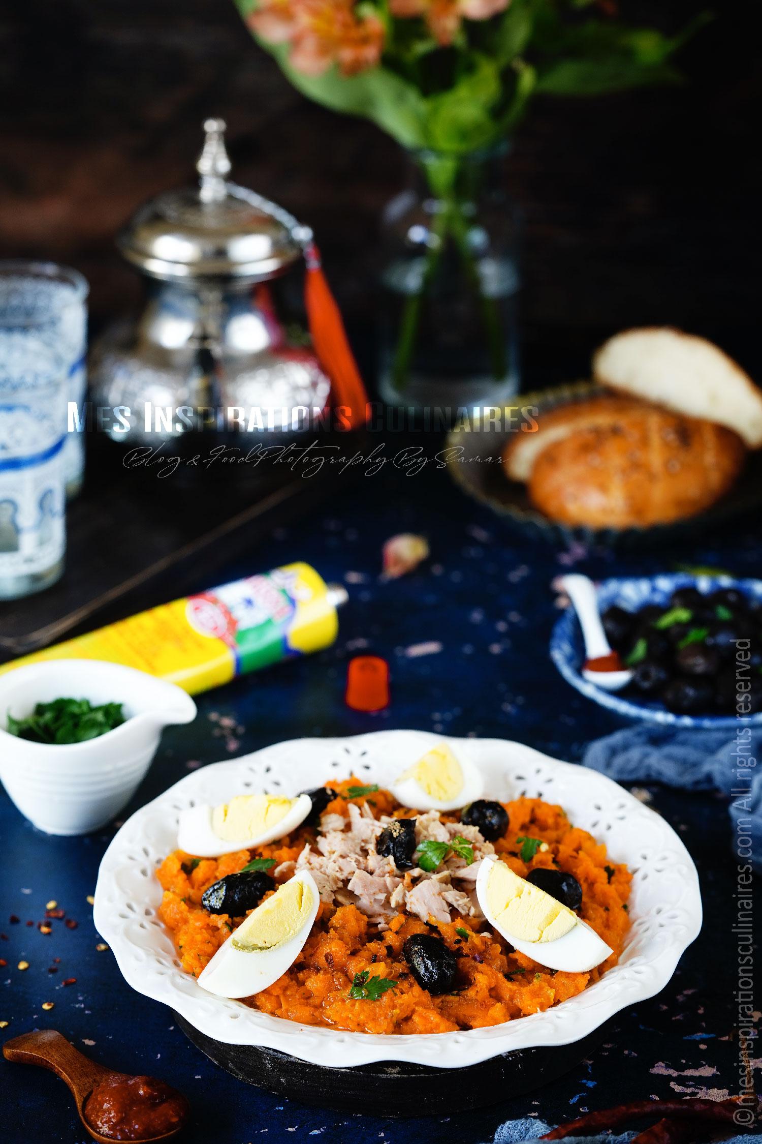 recette salade de carottes tunisienne