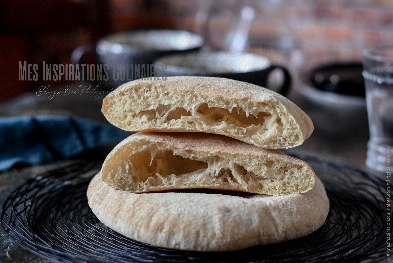 Matlouh el koucha, pain à la semoule au four