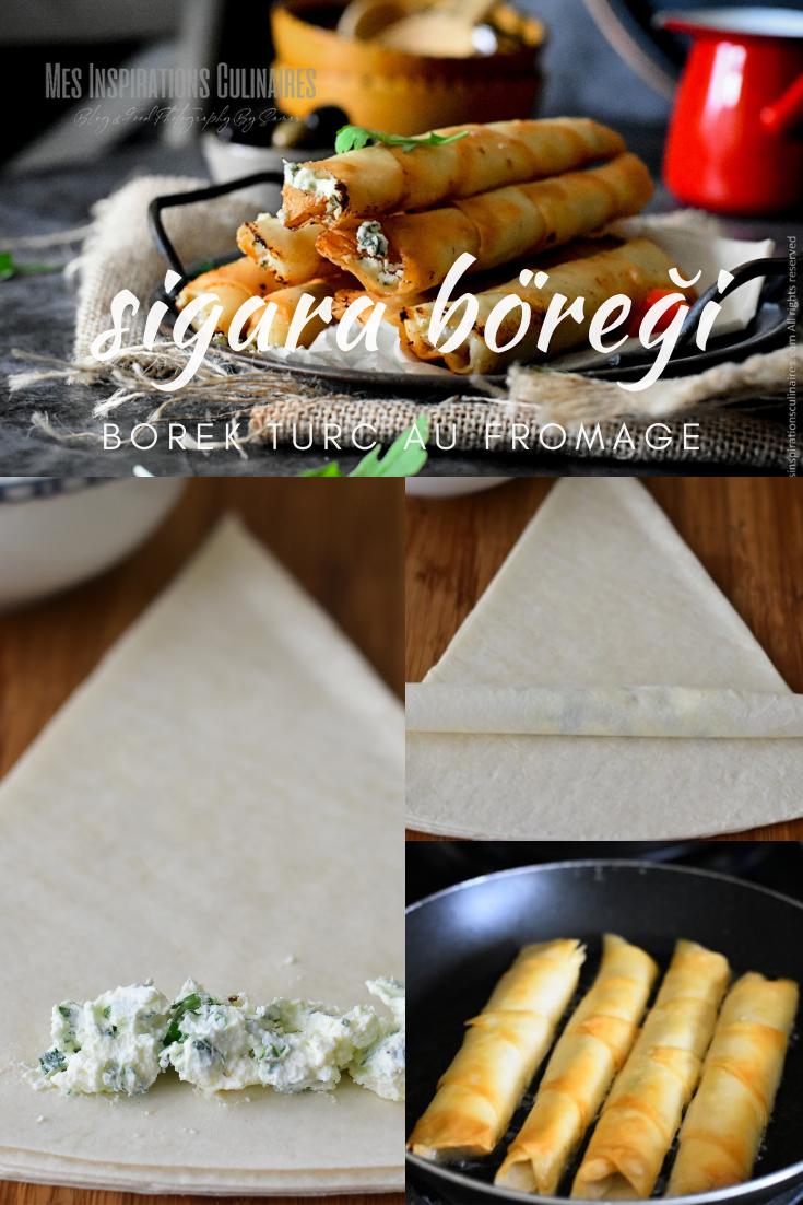 Recette Sigara Böreği au fromage