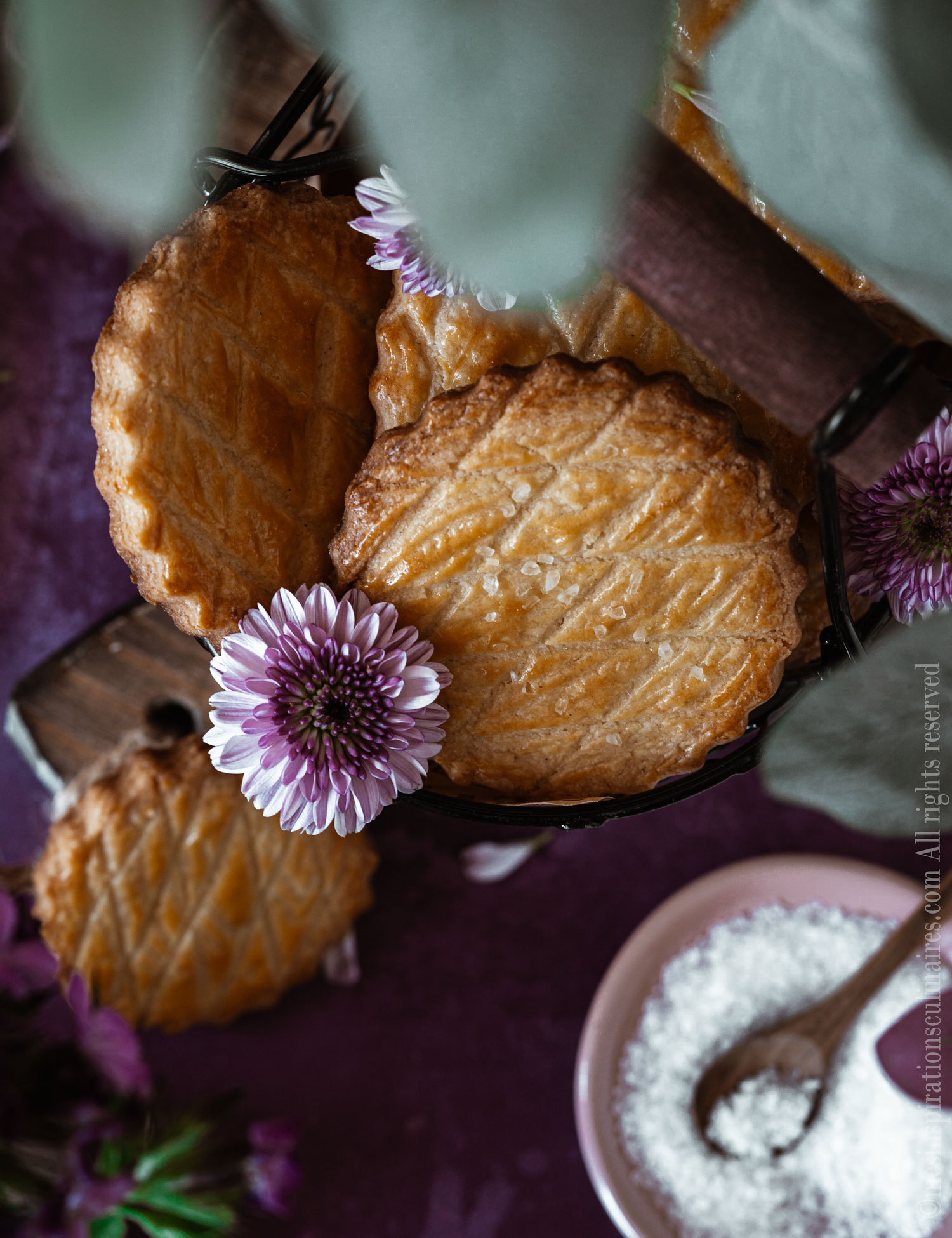 biscuits normands aux jaunes d'oeufs
