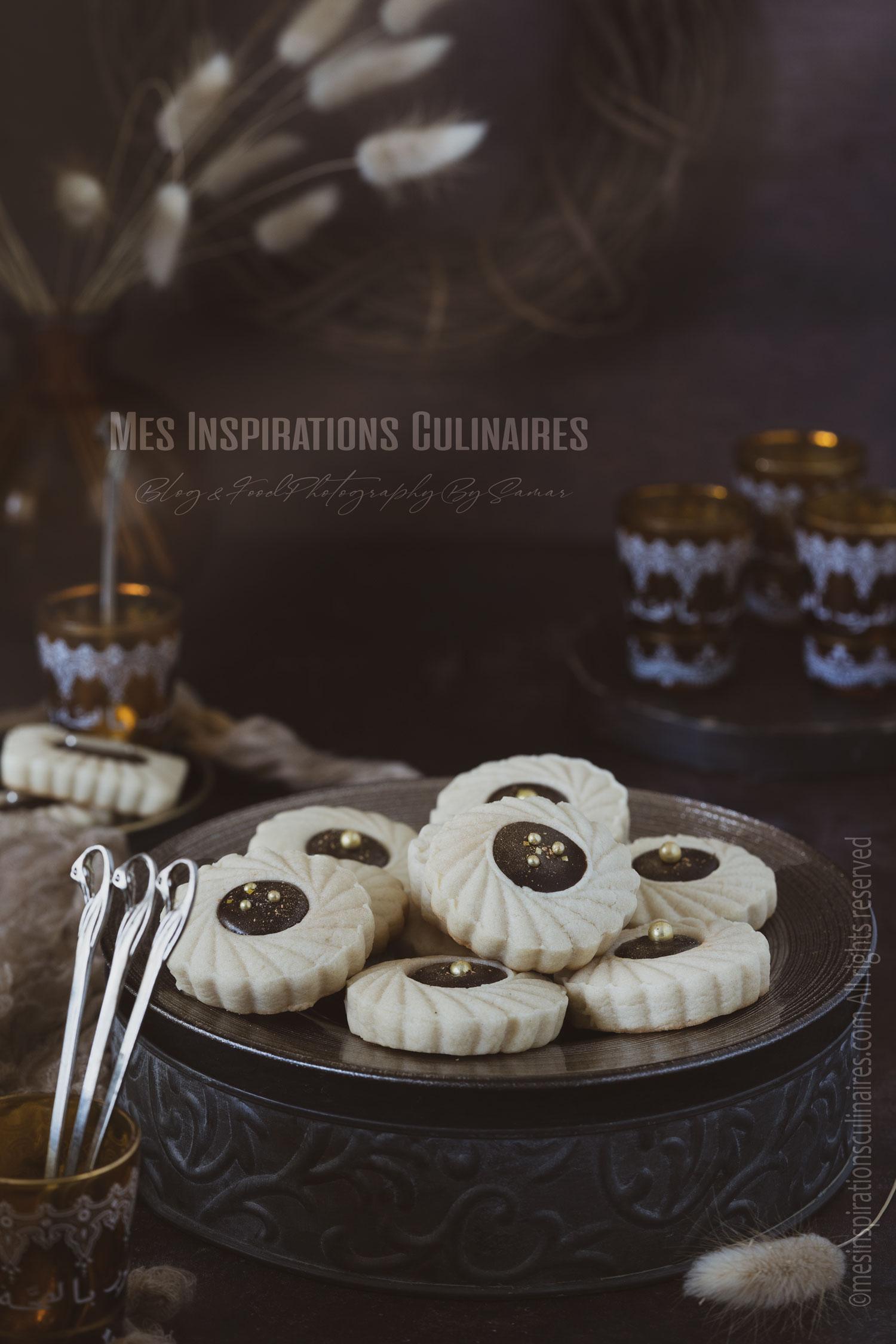 Biscuits moelleux au tahini et au chocolat